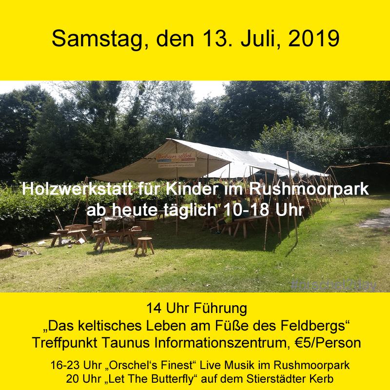 Samstag, den 13. Juli, 2019