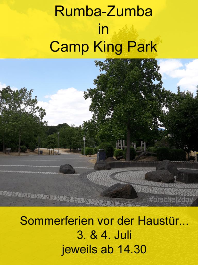 Rumba-Zumba in Camp King Park
