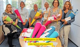 Schüssel & Freunde helfen... Schultütenaktion (Foto: privat)
