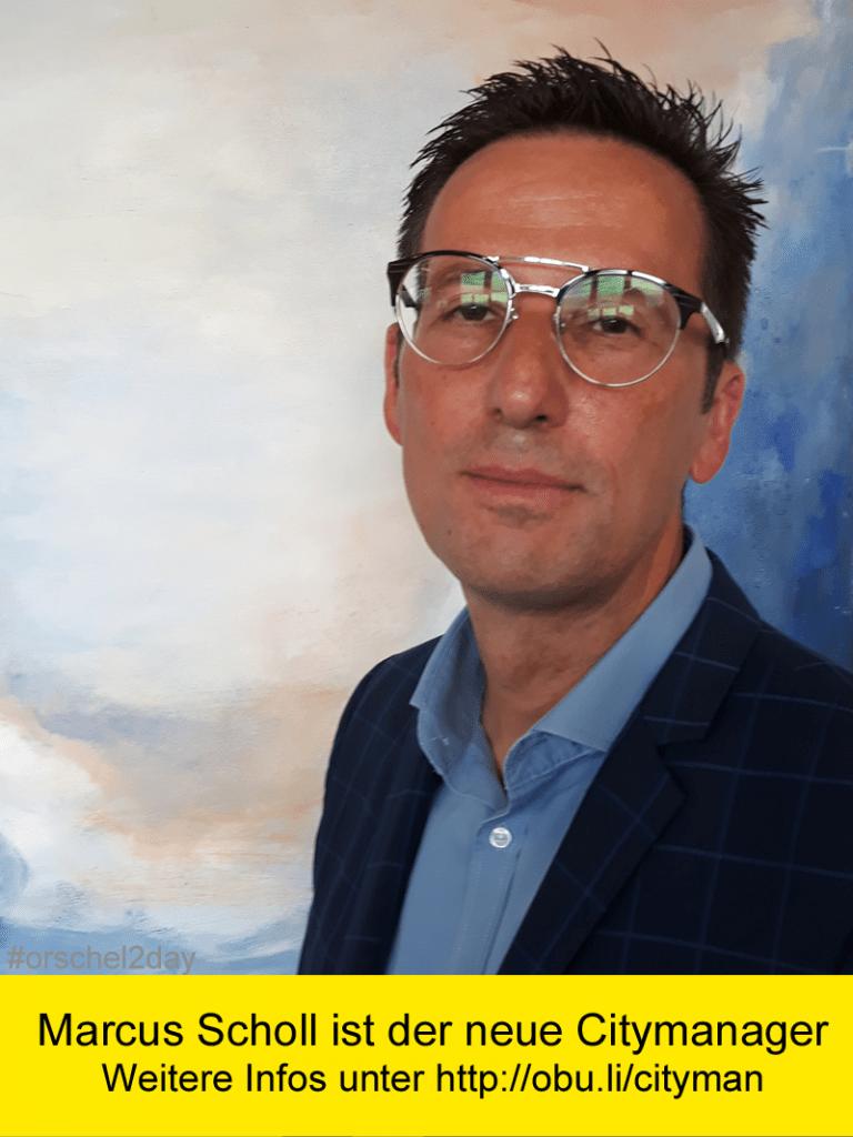 Marcus Scholl ist der neue Citymanager