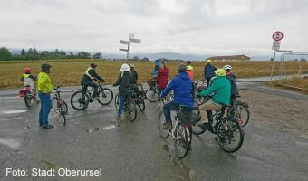 Trotz Regenwetter – Neubürger*innen erkunden Oberursel
