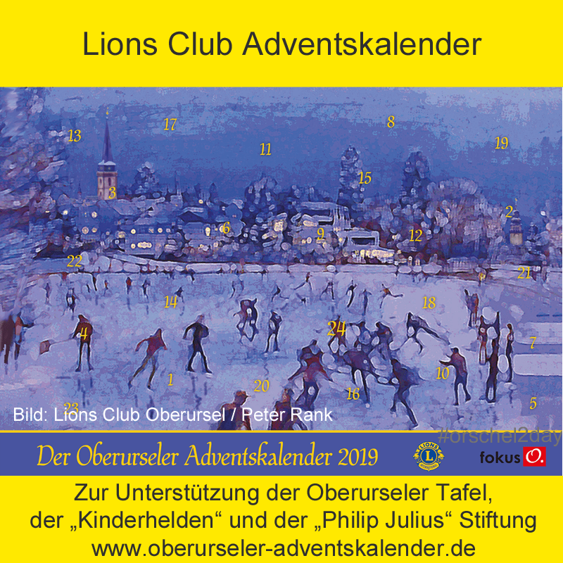 Lions Club Oberursel Adventskalender 2019