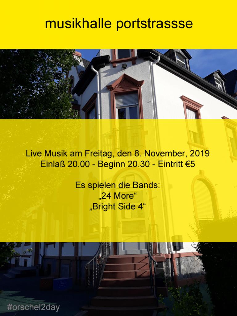 Freitag, den 8. November, 2019