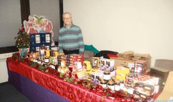 Weihnachtsmarkt - Besucher aus Rushmoor