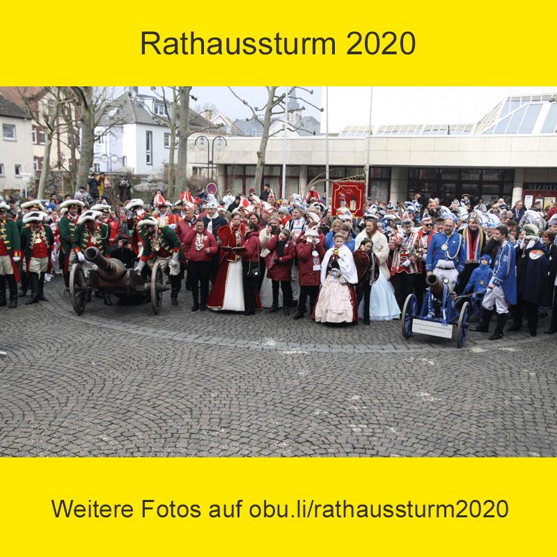 Rathaussturm 2020