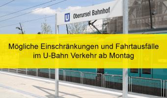Kein Schulunterricht: Mögliche Auswirkungen auf U-Bahn-Betrieb