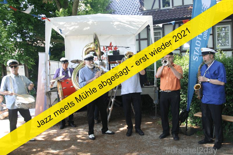 Jazz meets Mühle erst wieder 2021 - Veranstaltungsabsage aufgrund der aktuellen Gesundheitslage
