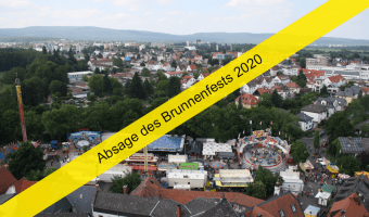 Absage des Brunnenfests 2020
