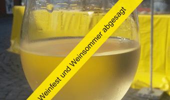 Kein Weinsommer auf dem Rathausplatz – Rheingauer Weinfest muss ebenso abgesagt werden