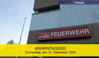 Am Donnerstag, den 10. September, 2020, werden die Sirenen in Oberursel als Teil des Bundesweiten #Warntag2020 getestet.