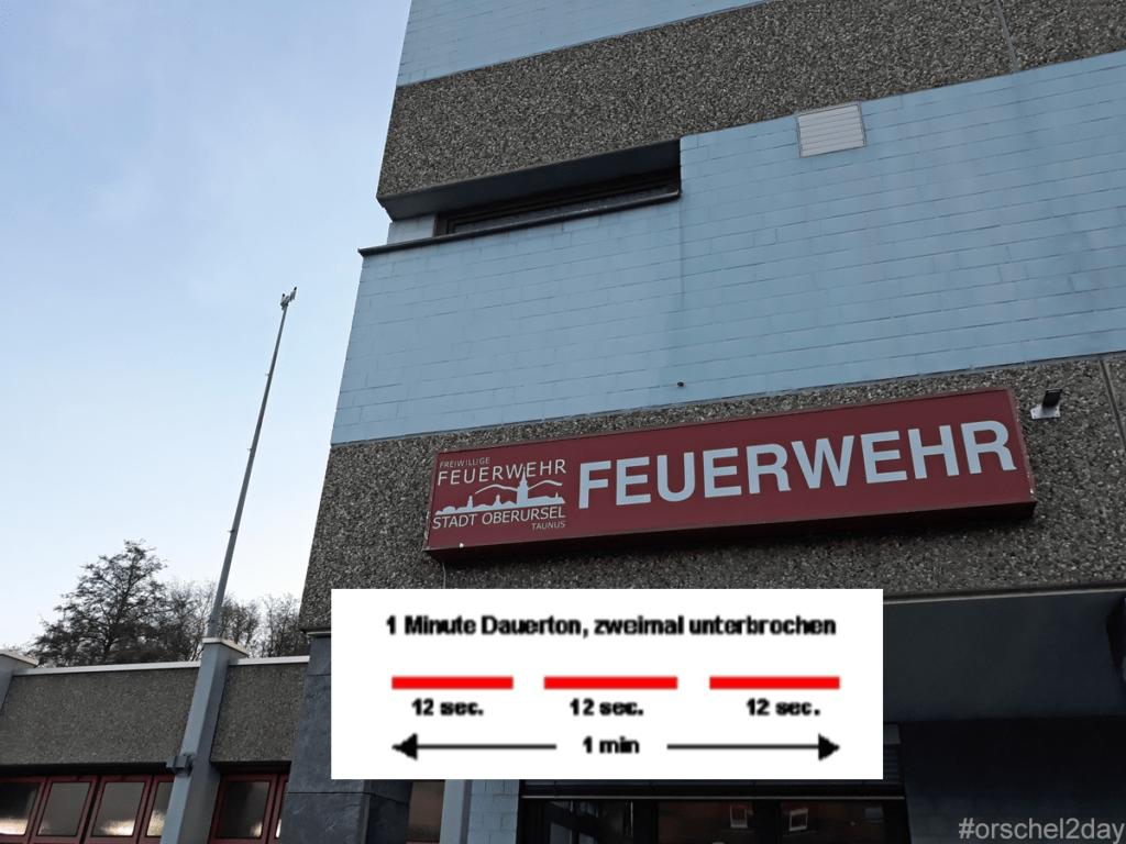 Sirenenanlagen zum Feueralarm werden am Samstag ab 12.00 Uhr überprüft