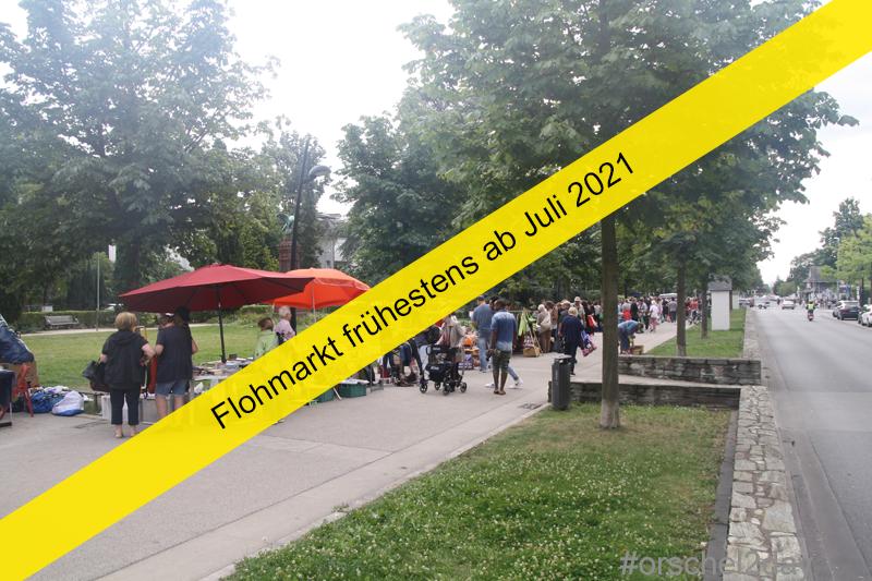 Flohmarkt frühestens ab Juli 2021