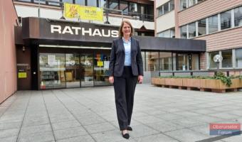 Oberurselers neue Bürgermeisterin Antje Runge stellt ihre Schwerpunkte vor